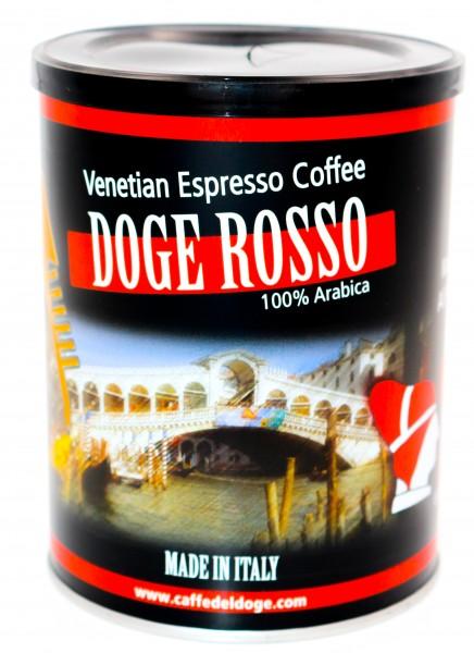 Caffè del Doge Rosso 100 % Arabica gemahlen Dose