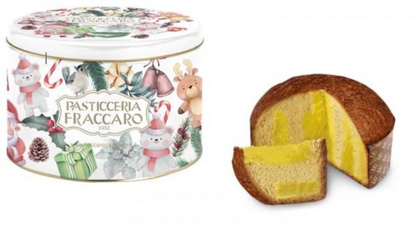Fraccaro Panettone con crema Limoncello - Weihnahtsdose