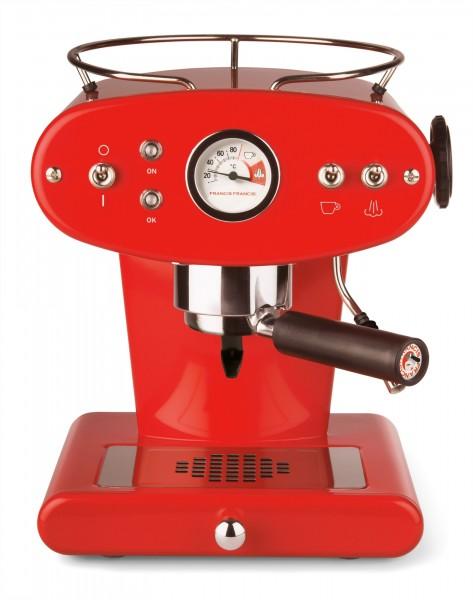 illy X1 ground rot Kaffeemaschine für gemahlenen Kaffee