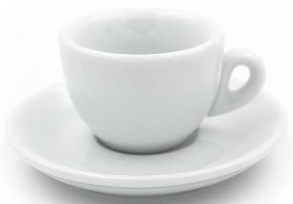 Nuova Point Espressotasse SORRENTO weiß 56 ml - Direktimport aus Italien