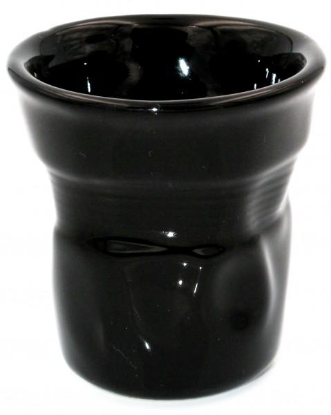Bialetti Espressobecher Knickbecher schwarz 6 Stück