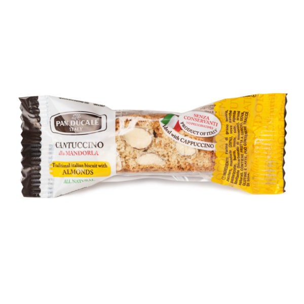 Pan Ducale Cantuccini mit Mandeln - einzeln verpackt