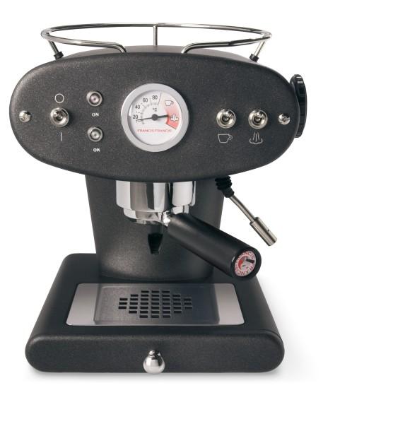illy X1 ground anthrazit Kaffeemaschine für gemahlenen Kaffee