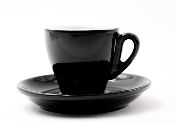 Nuova Point Espressotasse MILANO schwarz 65 ml