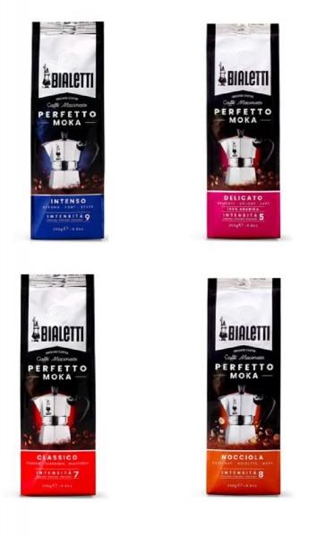 Bialetti Kaffee gemahlen Perfetto Moka 4 x 250 g