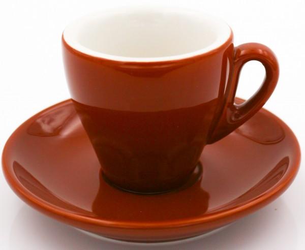 Nuova Point Espressotasse MILANO braun 65 ml - Direktimport aus Italien