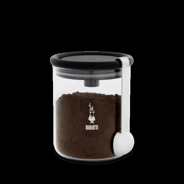 Bialetti Barattolo - Aufbewahrungsglas für gemahlenen Kaffee 2 tlg.